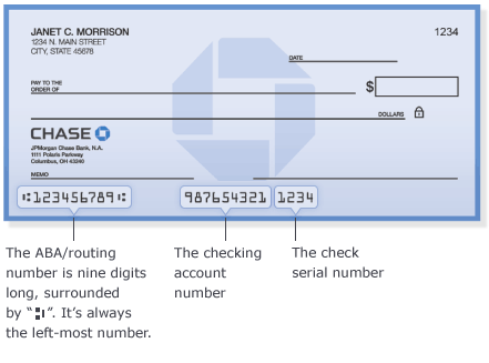chase bank checks