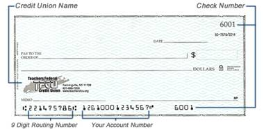 Teachers Credit Union Routing Number